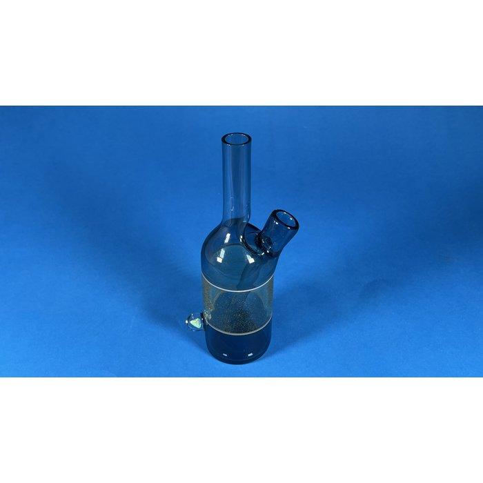 The Glass Mechanic 14mm Two Tone Full Color Sake Bottle #3