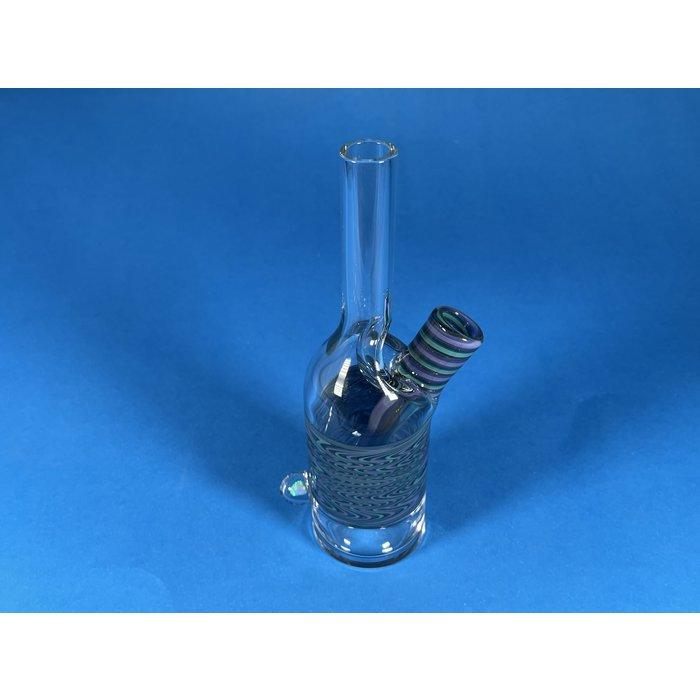 The Glass Mechanic 14mm Line Work Sake Bottle #1