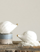 Creative Co-op Hedgehog Salt & Pepper Shakers