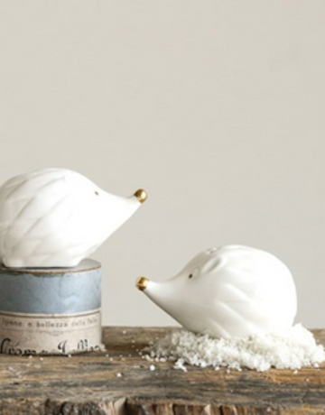 Creative Co-op Hedgehog Salt & Pepper Shakers