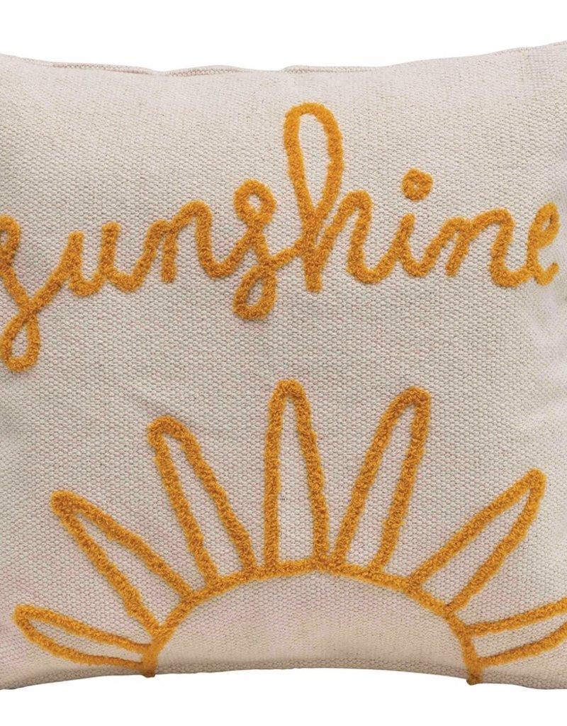 Creative Co-op Sunshine Pillow
