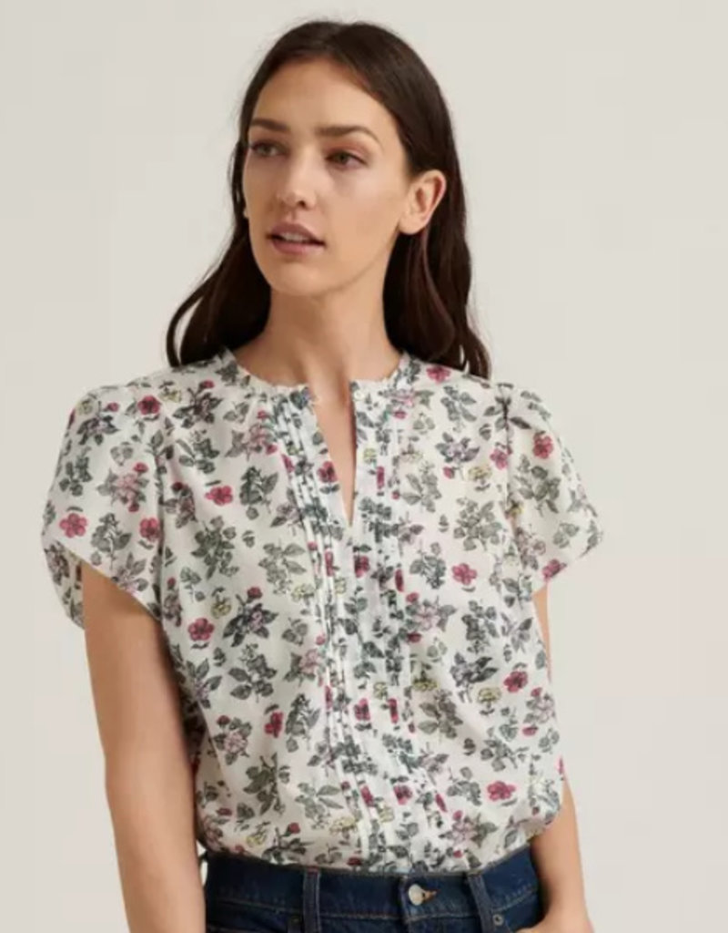 Lucky Brand Clothing Lucky BrandTulip Sleeve Pintuck Top