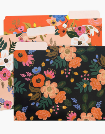 Rifle Paper Co. Floral File Folder Set