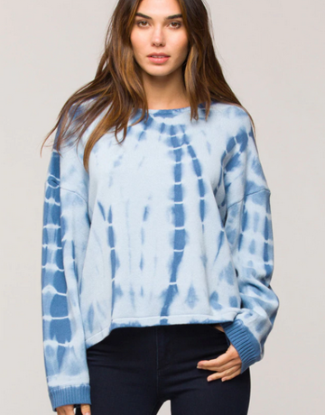Velvet Heart Zuma Blue Tie Dye Sweater