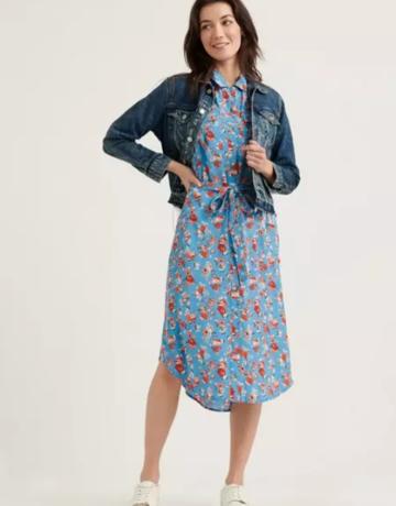 Lucky Brand Clothing Chelsea Crepe Dress
