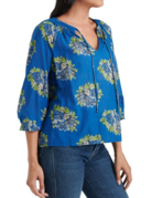 Lucky Brand Clothing Lucky Brand Lyla Printed Floral Top