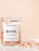 French Girl Cosmetics French Girl Rose Sea Calming Bath Salts