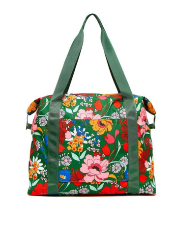 Ban.do Gifts Getaway Weekender Bag in Emerald Superbloom