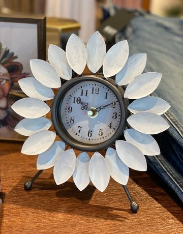 Foreside Flora Clock