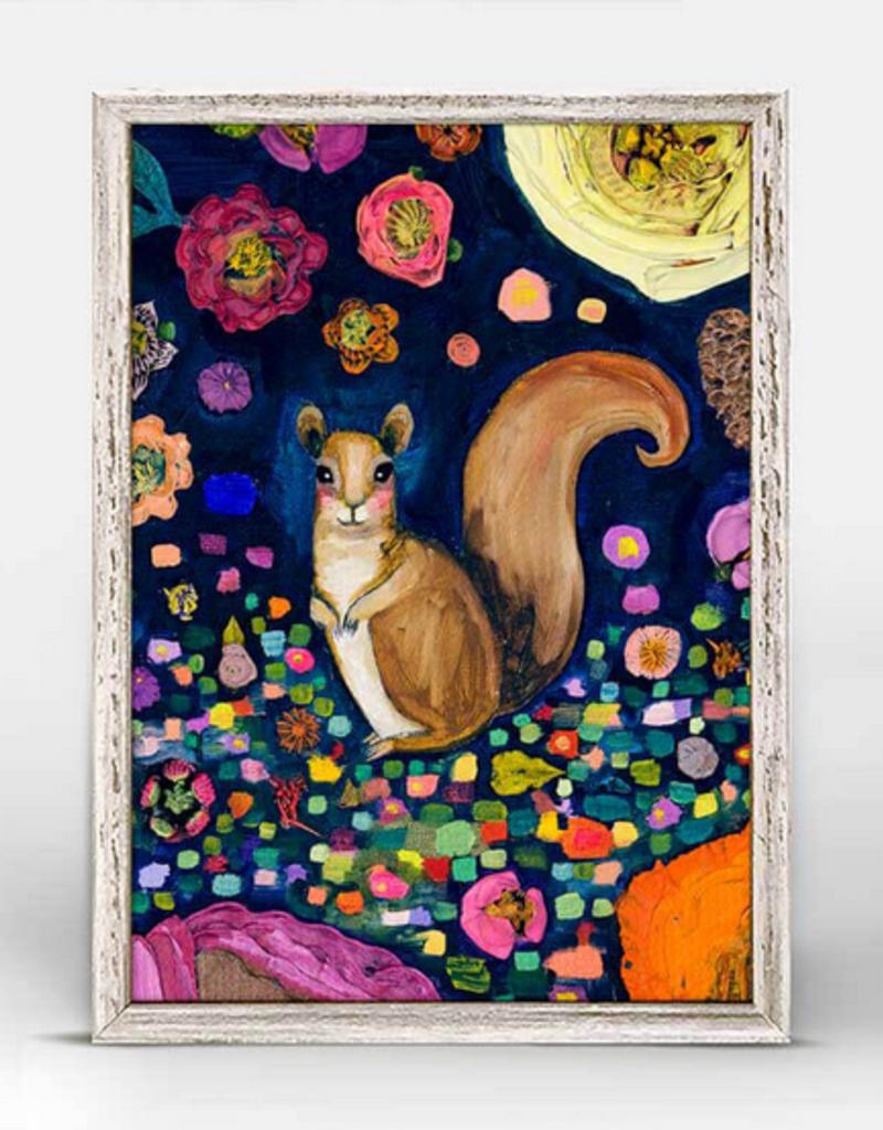 Greenbox Art Greenbox Into The Woods Squirrel Mini Framed Art