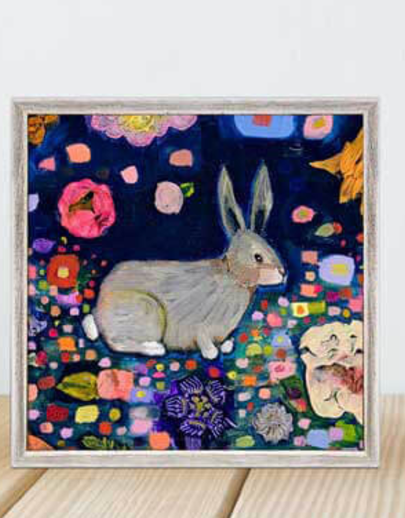 Greenbox Art Greenbox  Into The Woods Rabbit Mini Framed Art