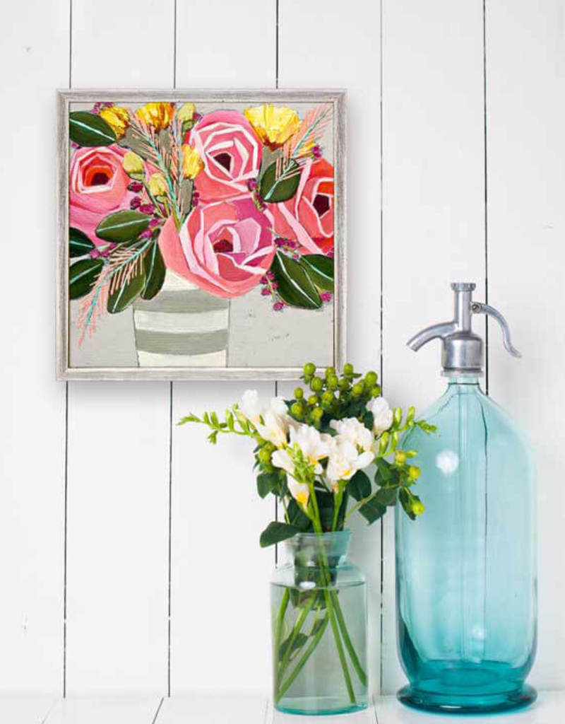 Greenbox Art Greenbox Farmhouse Floral Mini Framed Art