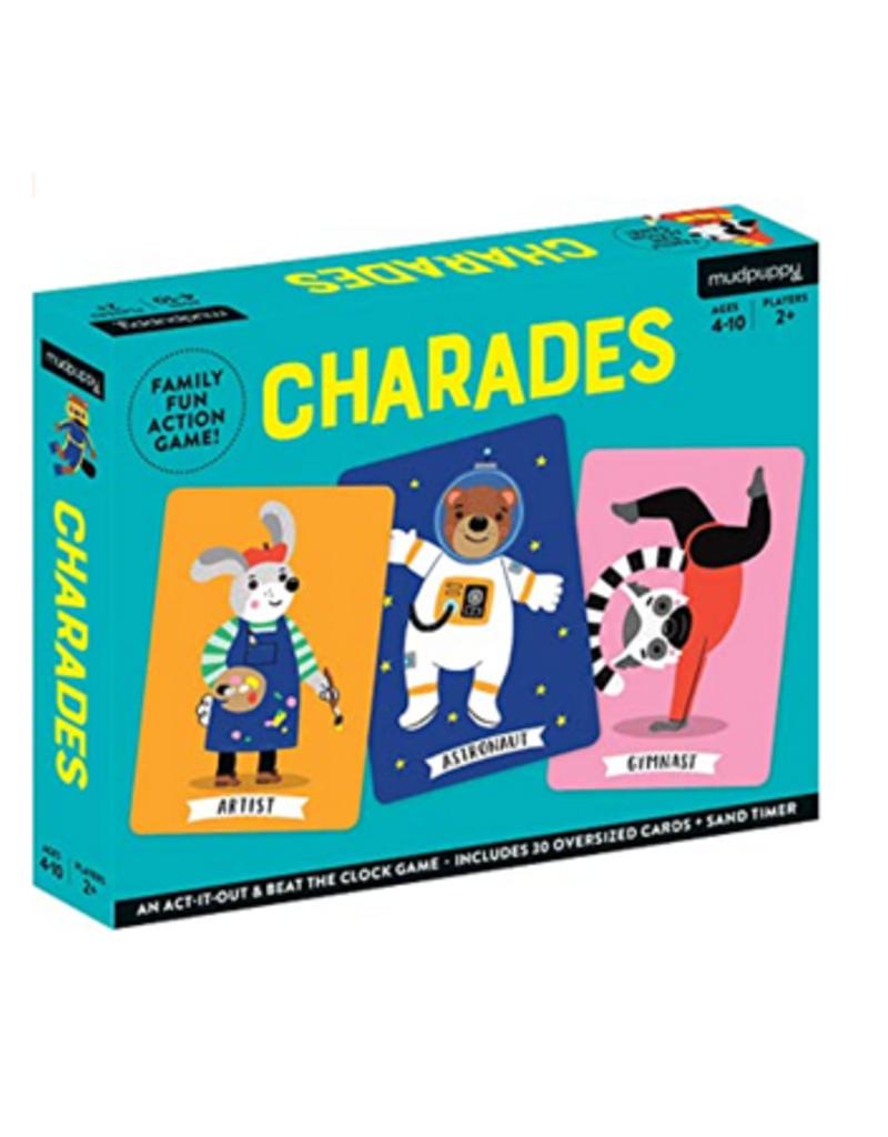 Chronicle Books Mudpuppy Charades Game