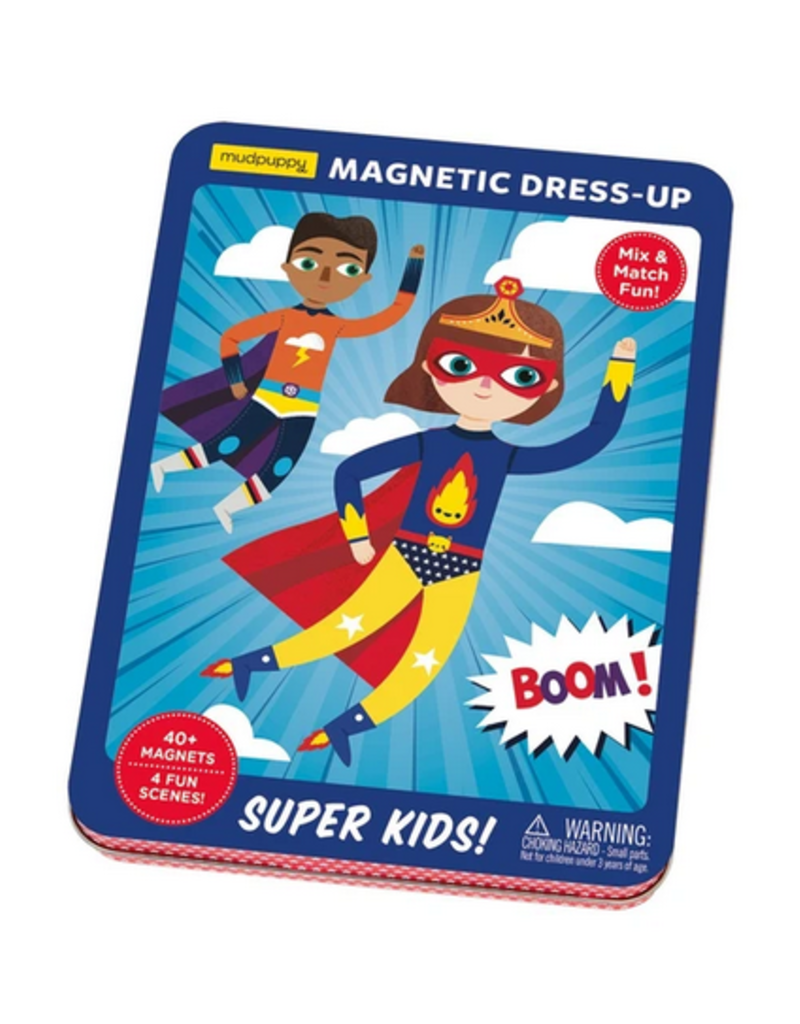 Chronicle Books Mudpuppy Magnetic Super Kids!