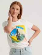 Lucky Brand Clothing Lucky Brand Coke Tee