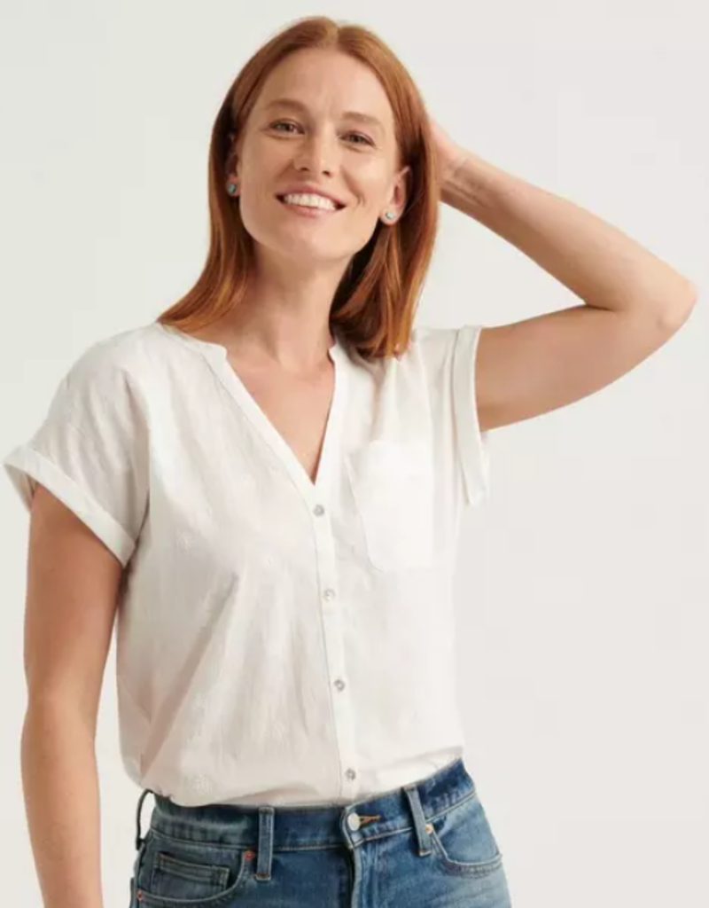 Lucky Brand Clothing Lucky Brand Woven  Top