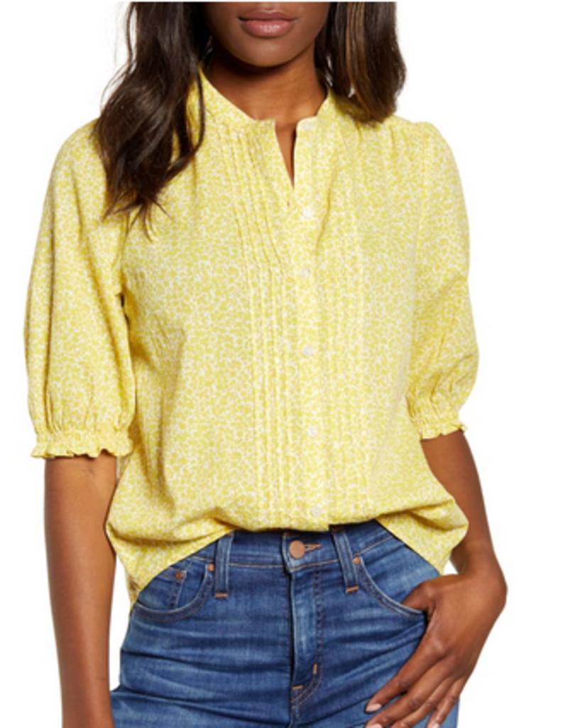 Lucky Brand Clothing Lucky Brand Dakota Ruffle Sleeve Top