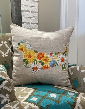 Sugarboo Designs Sugarboo Dachshund Pillow