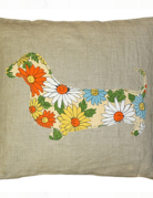 Sugarboo Designs Sugarboo Dachshund Pillow 24x24