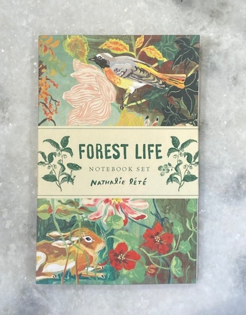 Chronicle Books Forest Life Notebook Set