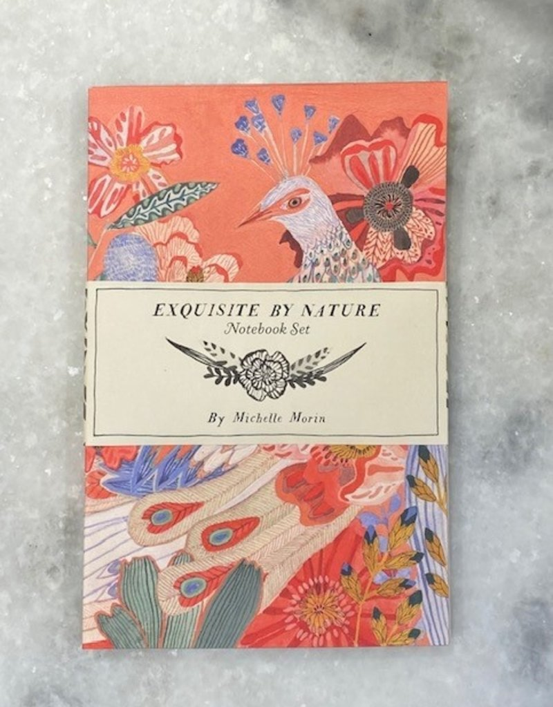 Chronicle Books Exquisite By Nature Notebook Set