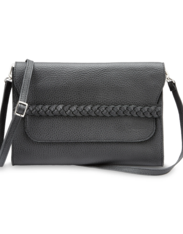 Brave Soles Carolina Braided Leather Purse