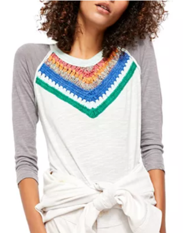 Free People Spring Bound Top