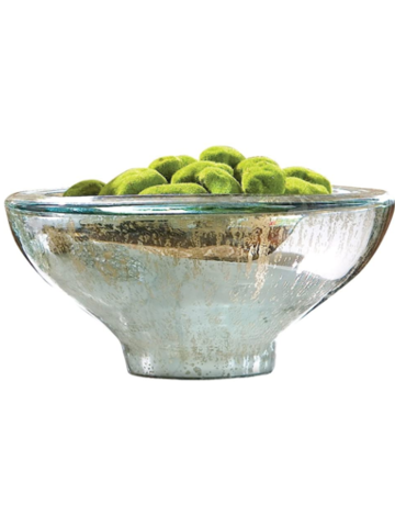 Pomeroy Antique Silver Aria Bowl