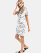 Dylan / True Grit Dylan Camo Chic Tee Dress