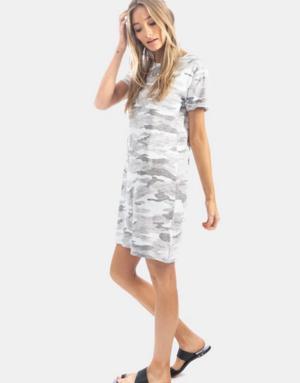 Dylan / True Grit Dylan Camo Chic Tee Dress