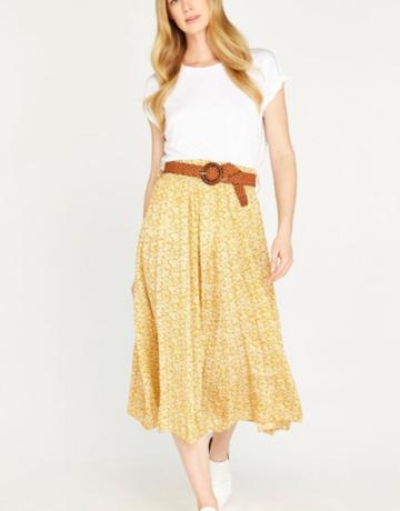 Apricot Vintage Pebble Daisy Skirt