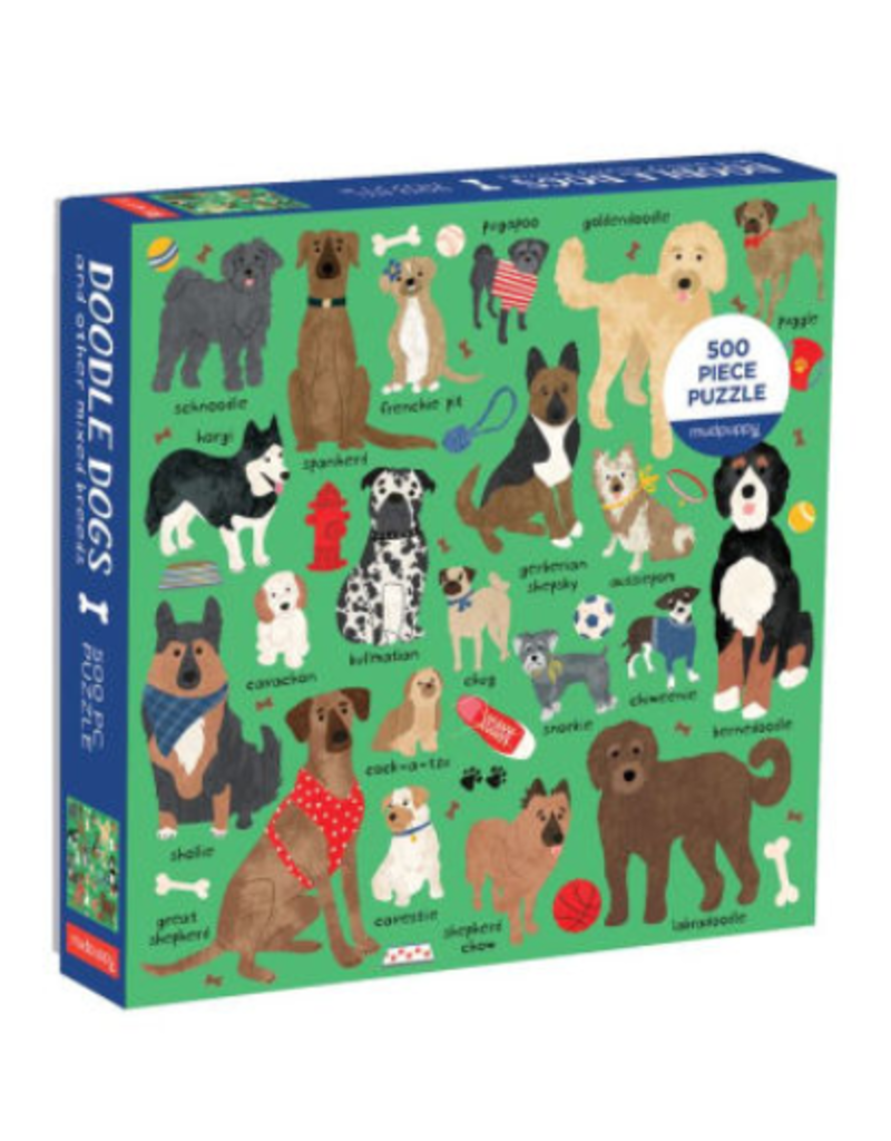 Chronicle Books Mudpuppy's Doodle Dogs Puzzle