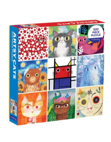 Chronicle Books Artsy Cats Puzzle