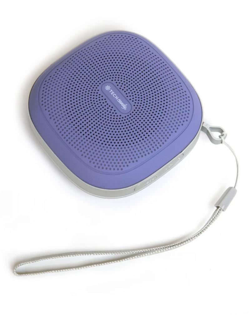 Tech Candy Tune Tag-Along Splash Proof Wireless Speaker