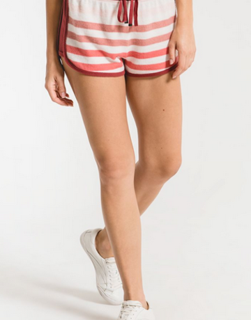 Z Supply Rainbow Stripe Shorts