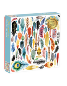Chronicle Books Foil Feathers Puzzle (500 Piece)