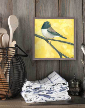 Greenbox Art Junco Mini Framed Art 6x6