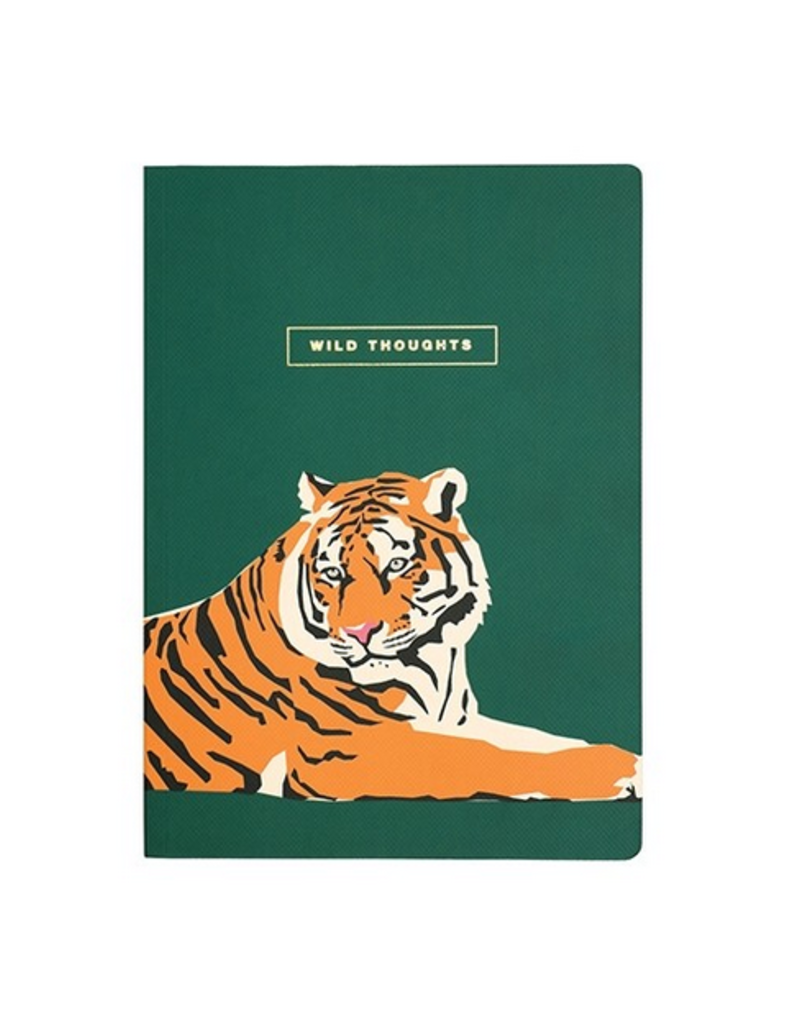 Emily Brooks Wild Thoughts Tiger Notebook
