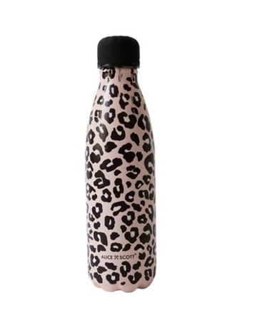 Alice Scott Leopard Water Bottle