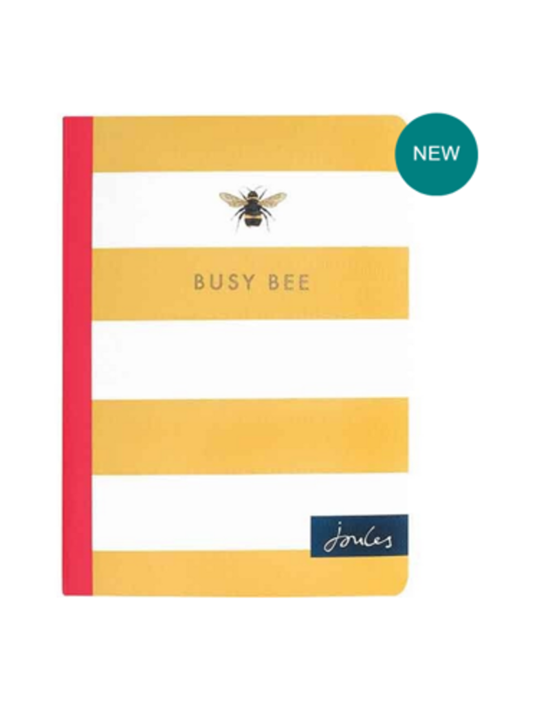 Joules Joules Busy Bee Stripe Pocket Notebook