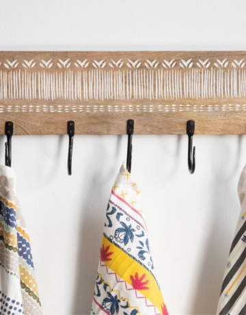 Foreside Handwoven Trixie Tea Towel
