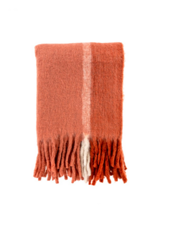 Indaba Trading Ltd Whistler Woven Throw in Rust