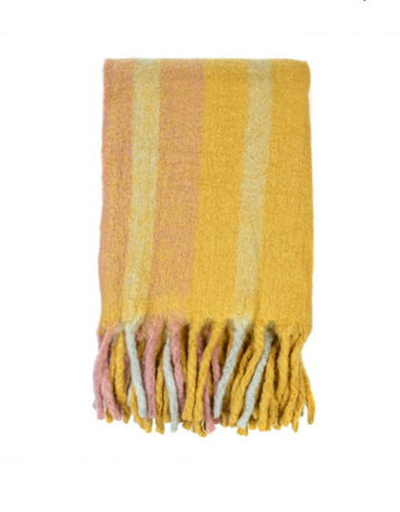 Indaba Trading Ltd Whistler Woven Throw in Spice