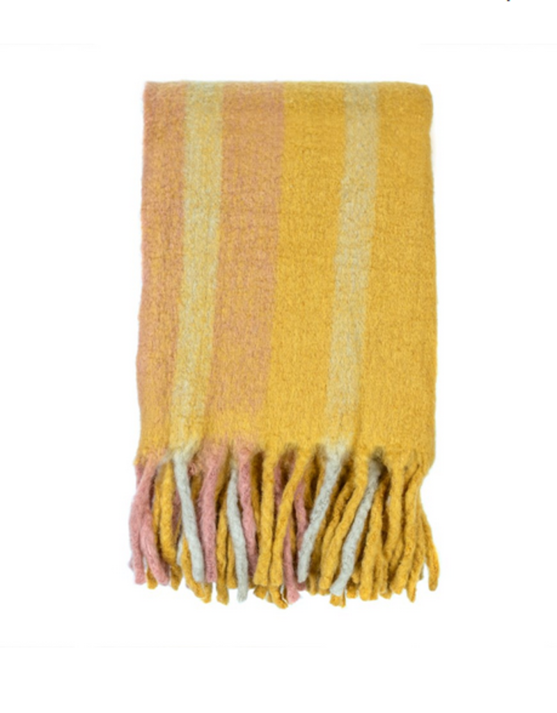 Indaba Trading Ltd Indaba Whistler Woven Throw in Spice