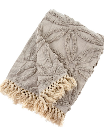 Indaba Trading Ltd Tufted Lola Throw