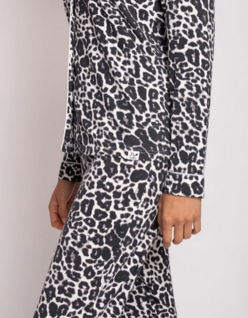 Pretty You London Pretty You London Bamboo Leopard Pajamas