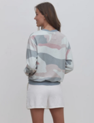 Grey State Grey State Abstract Camo Sweatshirt
