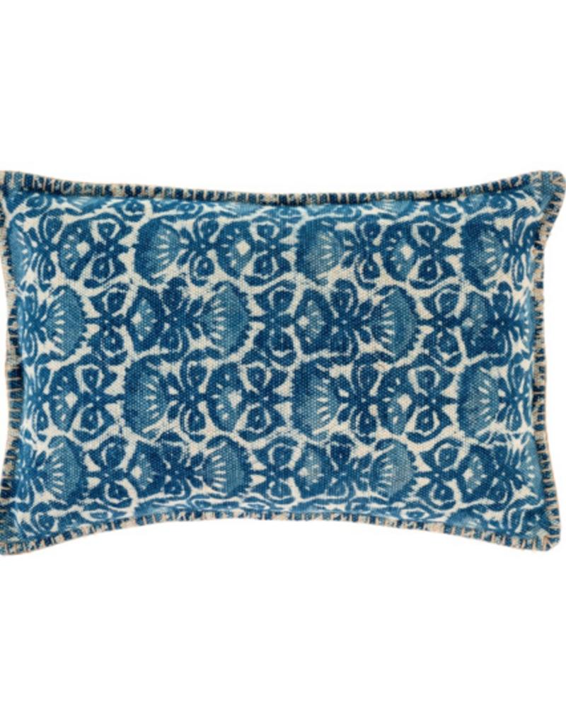 Indaba Trading Ltd Indaba Indigo Iris Pillow