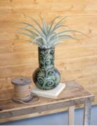Kalalou Kalalou Celadon Vines Lenca Vase