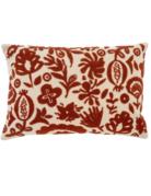 Indaba Trading Ltd Indaba New Guinea Pillow in Rust